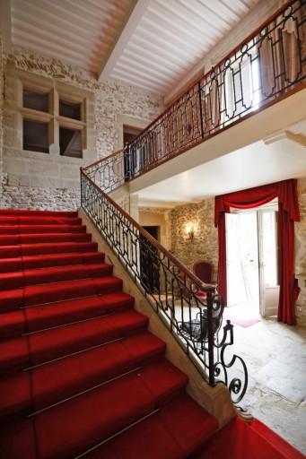 L'Escalier principal du Manoir