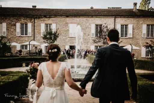 Mariage dans les jardins