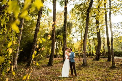 Mariés dans les Jardins du Domaine